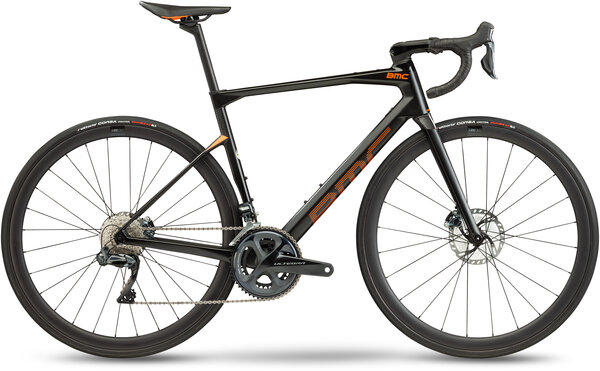 BMC Roadmachine 01 FOUR Color: Carbon Orange