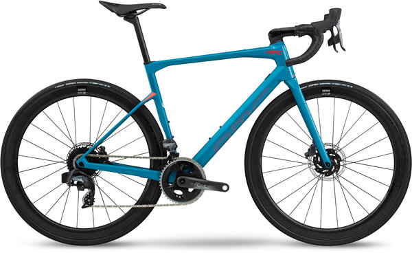 BMC Roadmachine 01 Three Color: Petrol Blue/Red