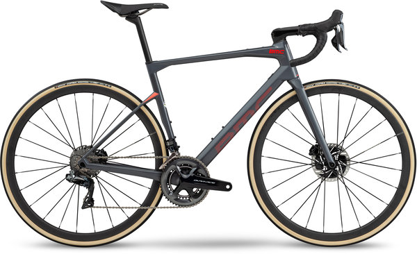 BMC Roadmachine 01 Two Color: Race Grey/Red