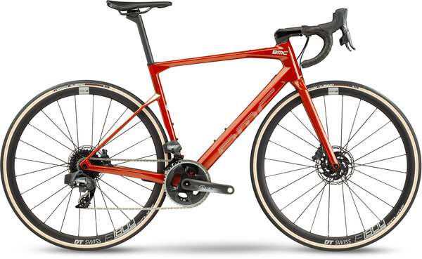 BMC Roadmachine ONE Color: Red Amber & Silver