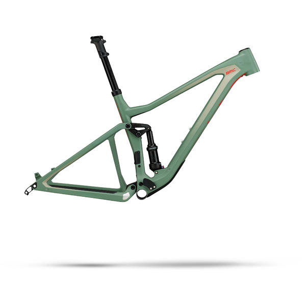 BMC Speedfox 01 Frameset Color: Fisher Green