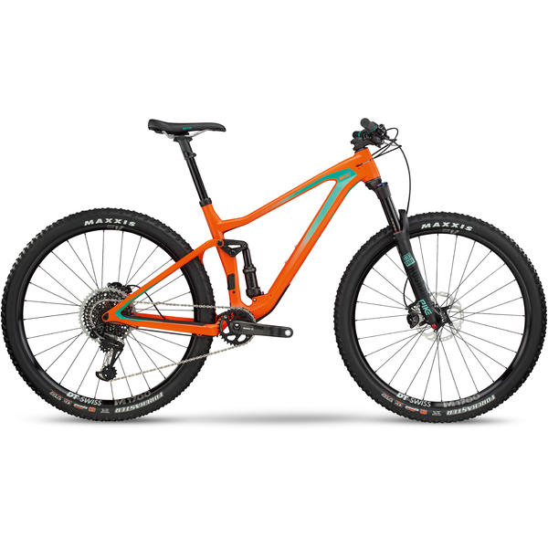 BMC Speedfox 02 ONE Color: Orange Mint