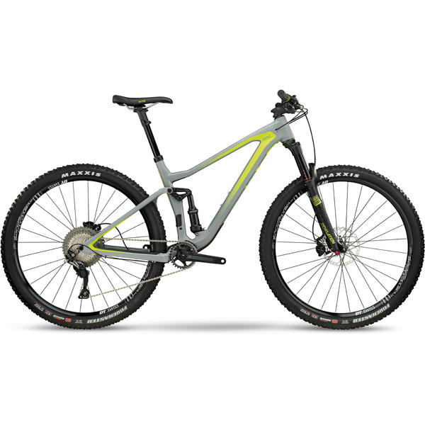 BMC Speedfox 02 THREE Color: Grey Yellow