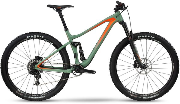 BMC Speedfox 02 TWO Color: Fisher Green