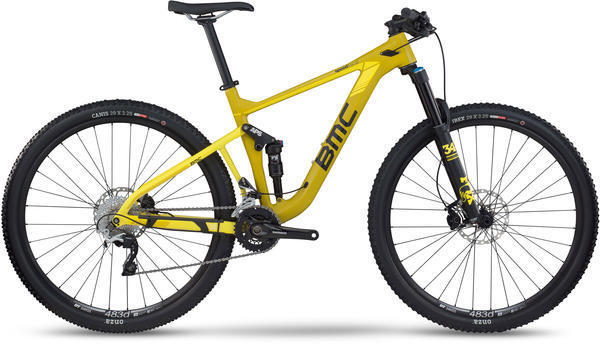 BMC speedfox 02 SLX/XT Color: Yellow
