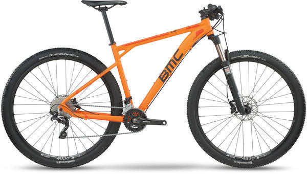 BMC teamelite 03 Deore/SLX Color: Orange