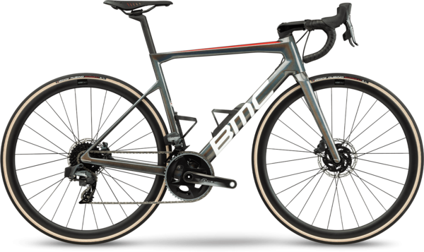 BMC Teammachine SLR ONE Color: Iridescent Grey White Red