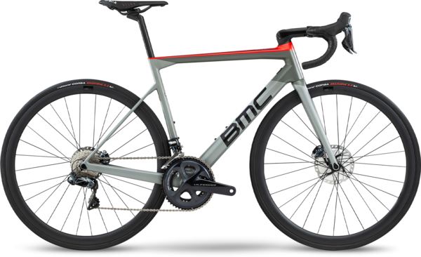 BMC Teammachine SLR01 Disc Four Color: Airforce Grey/Super Red