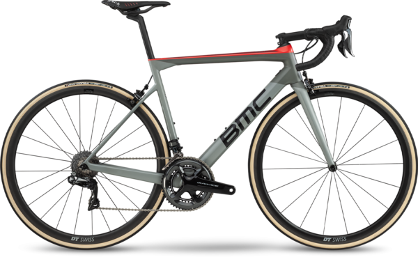 BMC Teammachine SLR01 One Color: Airforce Grey/Super Red
