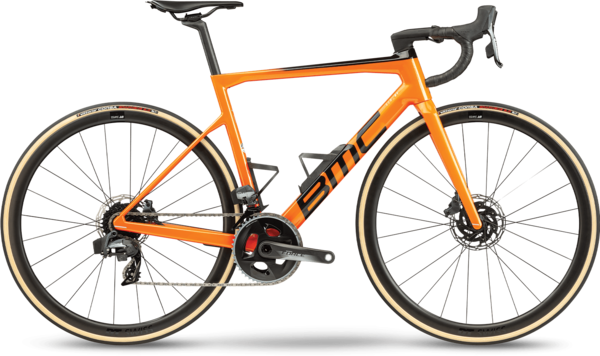 BMC Teammachine SLR01 THREE Color: Orange Black Carbon