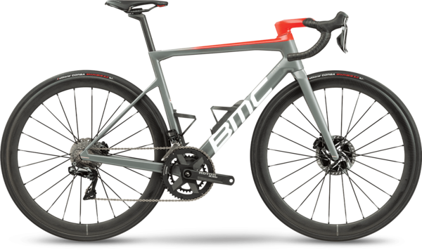 BMC Teammachine SLR01 TWO Color: Grey White Red