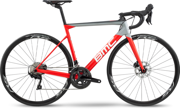 BMC Teammachine SLR02 Disc Four Color: Super Red/Carbon/White