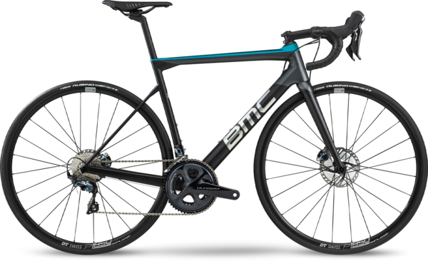 BMC Teammachine SLR02 Disc Three Color: Carbon/Aqua