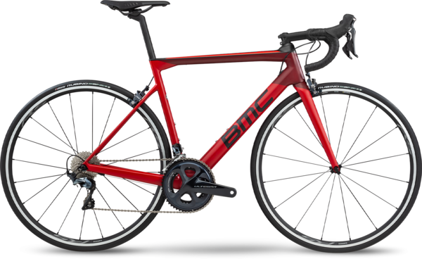 BMC Teammachine SLR02 Two Color: Carmine Red/Carbon