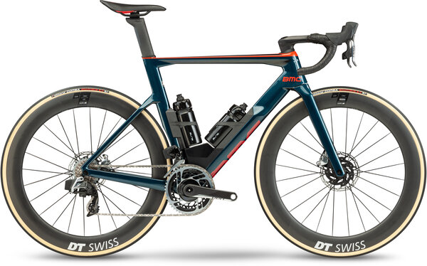 BMC Timemachine 01 ROAD ONE Color: Petrol/Red/Gold