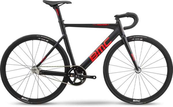 BMC Trackmachine 02 One Color: Black/Red