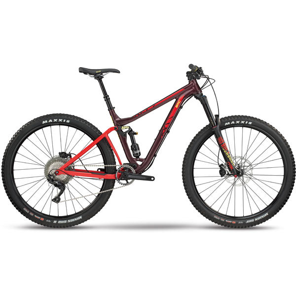 BMC Trailfox 03 TWO Color: Bordeaux Metallic