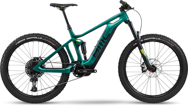 BMC Trailfox AMP One Color: British Racing Green