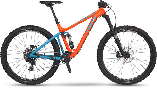 BMC trailfox 03 X1 Color: Red