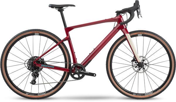 BMC URS Four Color: Cherry Red/White