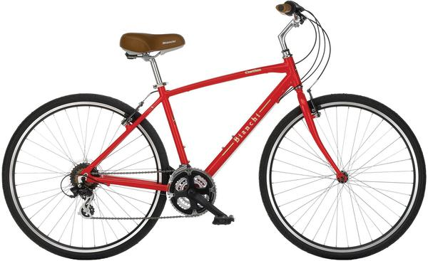 Bianchi Cortina Color: Gloss Red
