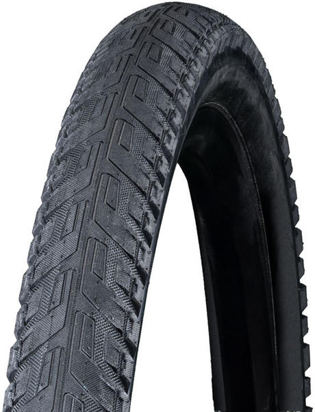 Bontrager H5 Hard-Case Ultimate Reflective Hybrid Tire Color: Black/Reflective