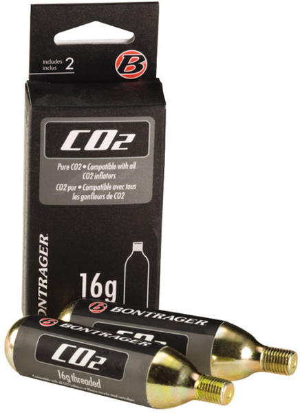 Bontrager 16-Gram CO2 Cartridge 2-Pack Model: Threaded