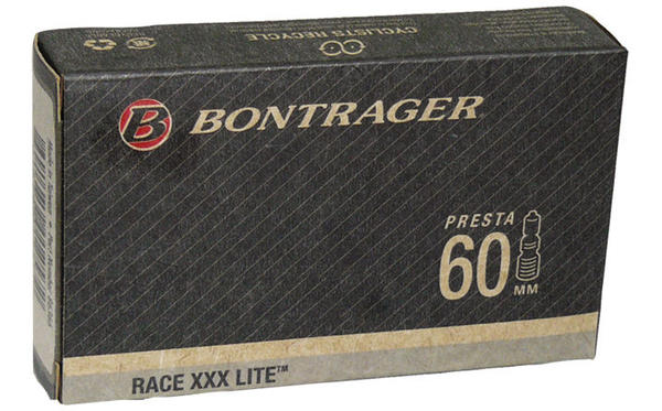 Bontrager Race XXX Lite Presta Valve Bicycle Tube Size | Valve Length: 700c x 18 – 25 | 60mm