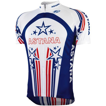 Bontrager Astana Team US Champ Short-Sleeve Jersey