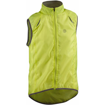 Bontrager Sport Wind Vest Color: Visibility Yellow