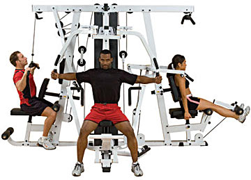 Body-Solid EXM4000S Gym System