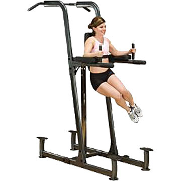 Body-Solid Fusion Vertical Knee-Raise/Dip/Pull-Up Station