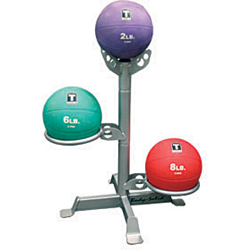 Body-Solid 3 Medicine Ball Rack