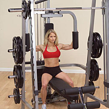 Body-Solid Pec Dec Station for Series 7 Smith Machine