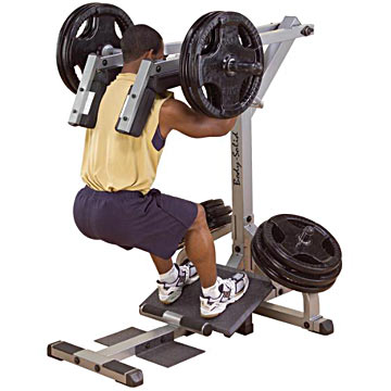 Body-Solid Leverage Squat/Calf Machine