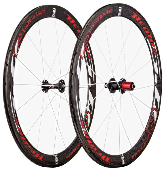 Bontrager Aeolus 5.0 Front Wheel (Clincher) Color: Red