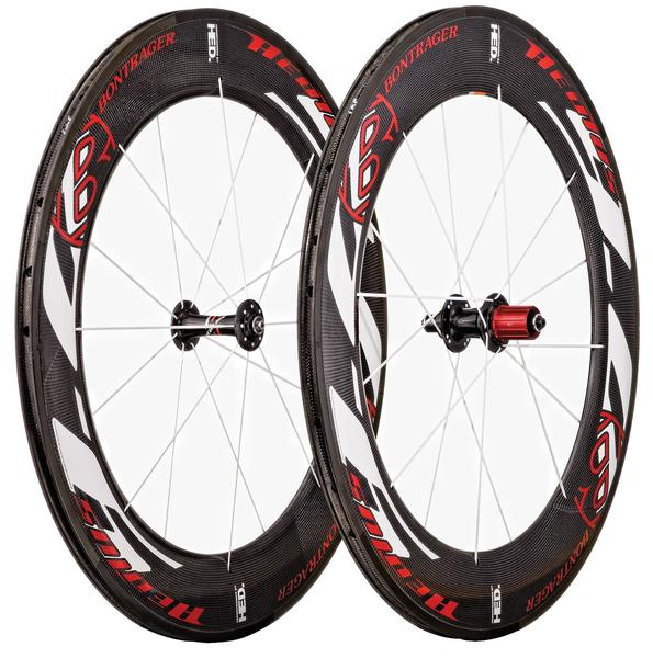 Bontrager Aeolus 9.0 Front Wheel (Clincher) Color: Red