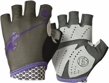 Bontrager Cadence Ultralight WSD Gloves - Women's Color: Gray/Purple