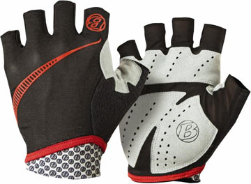 Bontrager Cadence Ultralight Gloves Color: Black/Red