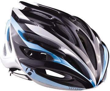 Bontrager Circuit WSD Color: Black/Light Blue
