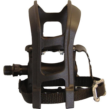 Bontrager Resin ATB Pedals w/Clip/Strap
