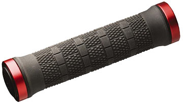 Bontrager Rhythm Grips Color: Black/Red