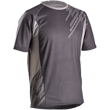 Bontrager Rhythm Short Sleeve Jersey Color: Gray Print