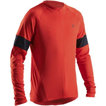 Bontrager Sport Long Sleeve Jersey Color: Red