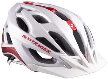 Bontrager Quantum WSD Color: White/Red