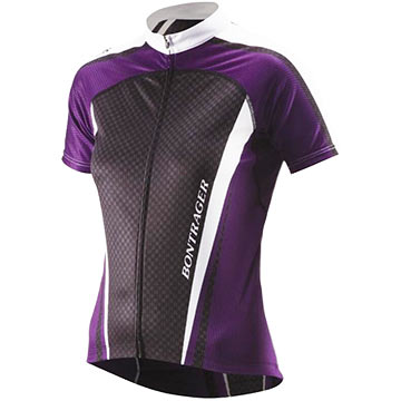 Bontrager Race Lite WSD Short Sleeve Jersey - Women's Color: Bontrager Purple