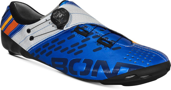 Bont Helix Road Cycling Shoes Color: Metallic Blue/White