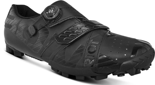Bont Riot MTB+ BOA Cycling Shoes Color: Black