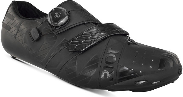 Bont Riot Road+ Wide BOA Cycling Shoes Color: Black