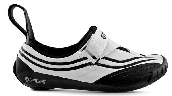 Bont Sub-8 Triathlon Shoes Color: White